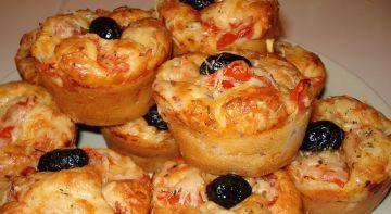Muffins salé façon pizza