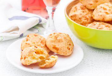 Gougères à la mimolette