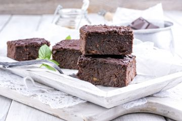 Vegan brownies à l'avocat