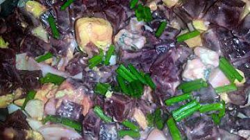 Salade de betteraves et Roquefort