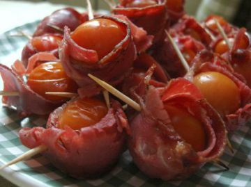Bouchées tomates-coppa