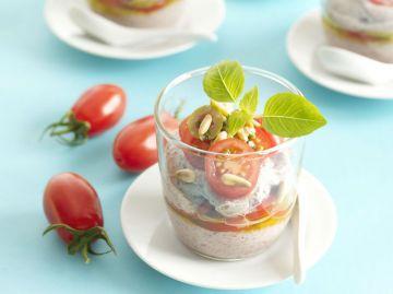 Crémeux de tomates