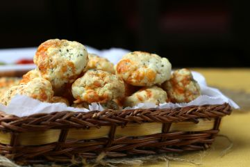 Biscuits maison au cheddar