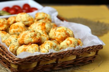 Cookies au cheddar