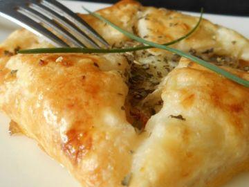 Feuilletés chorizo & mozzarella