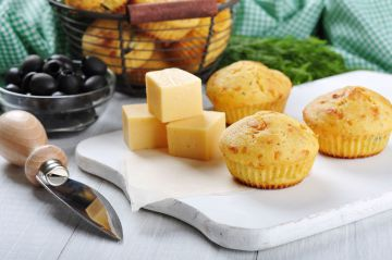 Muffins au fromage  faciles