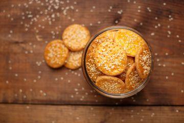 Crackers salés à la bière