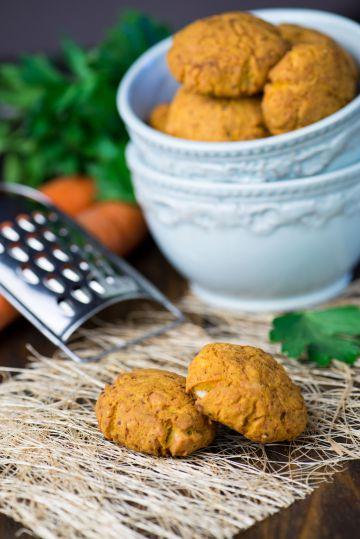 Cookies salés à la carotte
