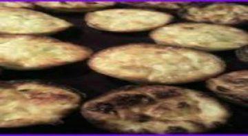 Bouchées au poireau et parmesan