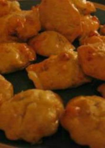 Madeleines salées au camembert et chorizo