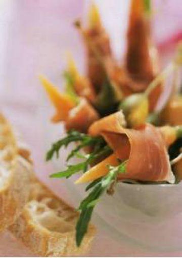Carottes au jambon de Parme