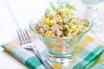 Macédoine de légumes aux saucisses Knacki