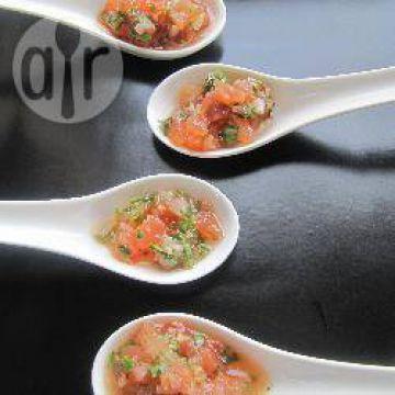 Bruschetta à la tomate et au basilic