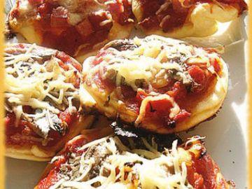 Mini-pizza (ou piccolinis)
