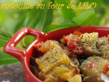 Ratatouille au four de lilo